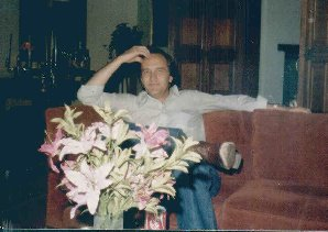 The real Roger Miller, at home in Tesuque, 1980 Photo by Pam Mills